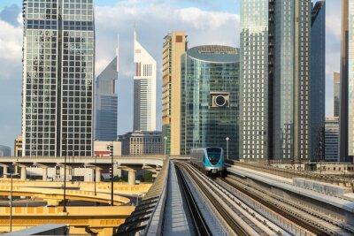 Фотообои метро Дубая