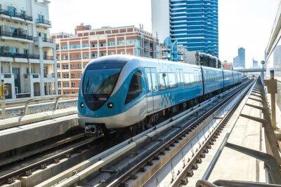 Фотообои Дубай железнодорожного метро