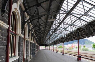 Фотообои Железнодорожный вокзал Данидин