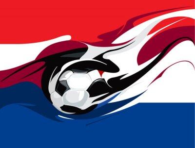 Фотообои Голландский футбол