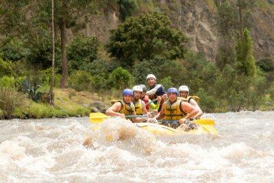 Фотообои Эквадор Whitewater Рафтинг