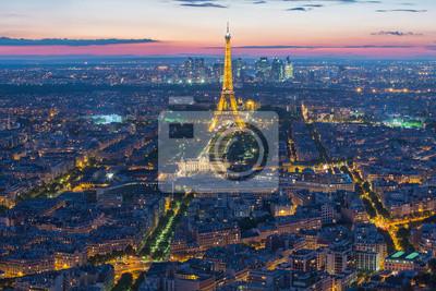 Фотообои Эйфелева башня в Париже, Франция