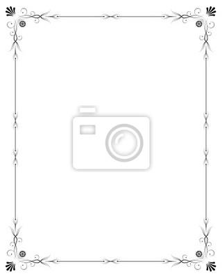 рамка для фотообоев: