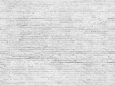 Фотообои Пустая часть белого окрашенные кирпичные стены.