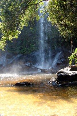 Фотообои Водопад на территории национального парка, Камбоджа