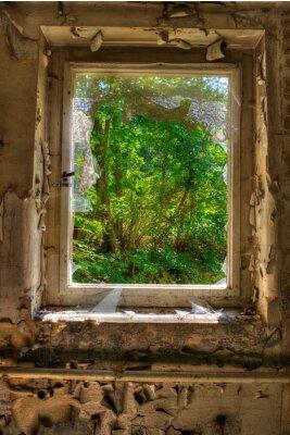 Фотообои Fenster Цум Garten