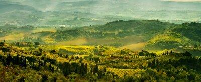 Фотообои Поля в Тоскане