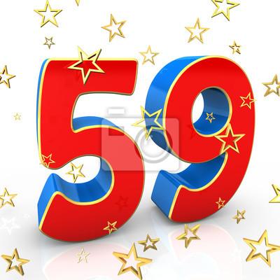 Открытка на день рождения 59 лет 27