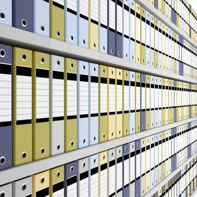 Фотообои прекрасный образ 3d архива фоне папки