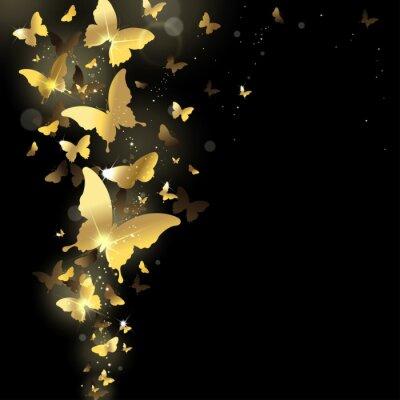 Фотообои фейерверк бабочек