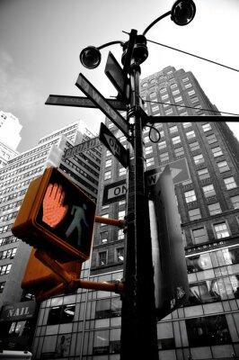 Фотообои мигающий свет Нью-Йорке boradway