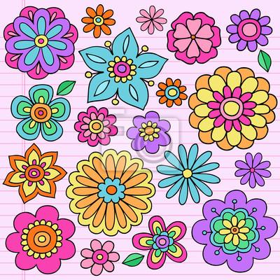 Декоративные изображения цветов