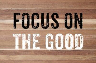 Фотообои Сосредоточьтесь на благо: положительную мотивацию