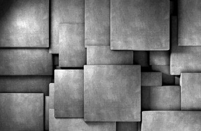 Фотообои Fondo Abstracto 3d, Bloques де цементо