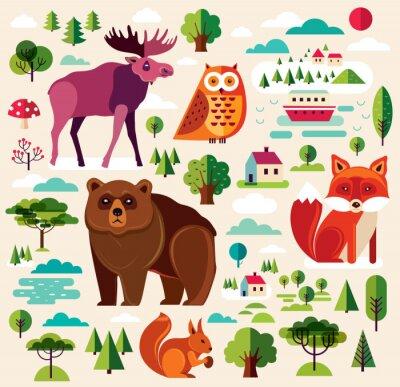 Фотообои Лесные животные Colletion