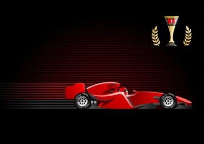 Фотообои Формула 1