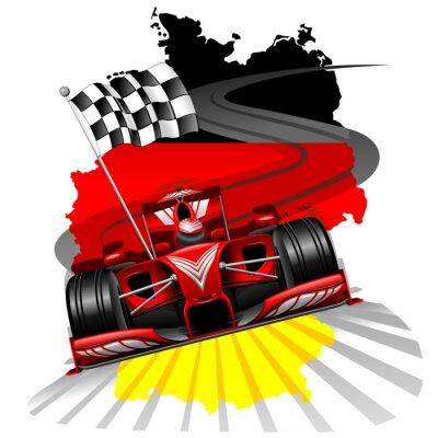 Фотообои Формула-1 Гран-при Германии