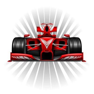 Фотообои Формула-1 Red гоночный автомобиль