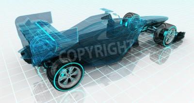 Фотообои Формула автомобиль технологии каркас эскиз верхний вид сзади автоспорт продукт фоновый дизайн моего собственного