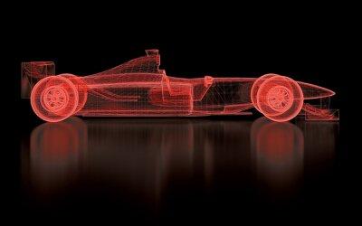 Фотообои Formula One Mesh