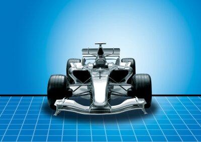 Фотообои формула один, скорость концепция