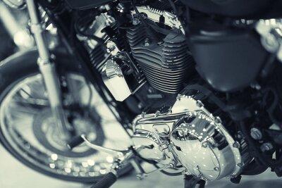 Фотообои fragment of a motorcycle