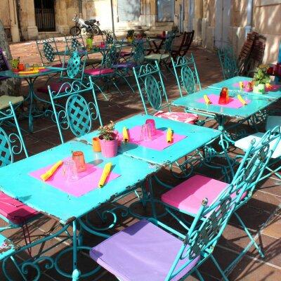 Фотообои Франция - терраса (Прованс)