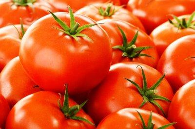 Фотообои Свежие органические помидоры на уличном киоске