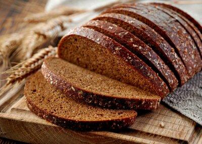 Фотообои свежий ржаной хлеб