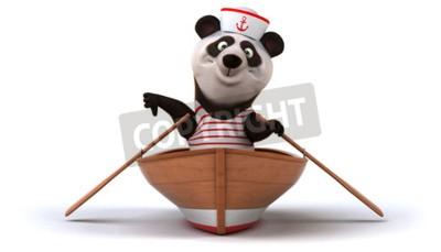 Фотообои Веселая панда