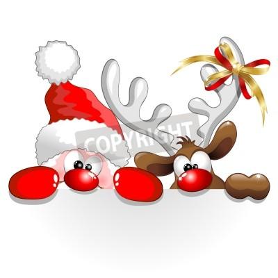Funny christmas clip art