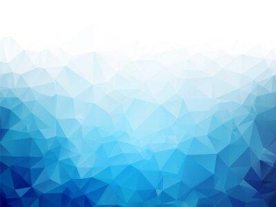Фотообои Геометрический синий лед текстуры фона