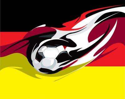 Фотообои немецкий футбол