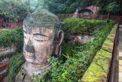 Фотообои Гигантский Будда (Da FO) - Лэшань, Сычуань, Китай
