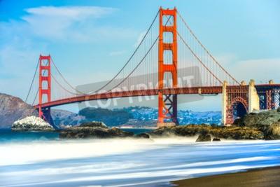 Фотообои Мост Золотые Ворота в Сан-Франциско, Калифорния, США.