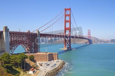 Фотообои Мост Золотые Ворота в Сан-Франциско, США.