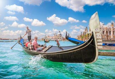 Фотообои Гондола на Гранд-канал в Венеции, Италия
