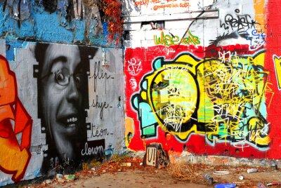 Фотообои граффити: Фон