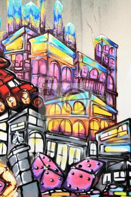 Фотообои Graffiti - Street art