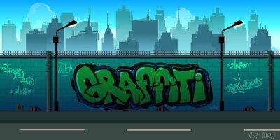 Фотообои Граффити стены фона, городского искусства