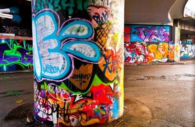 Фотообои Граффити стена