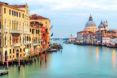 Фотообои Большой канал и Базилика Санта-Мария-делла-Салюте, Венеция, Италия