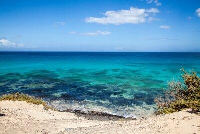 Фотообои Гранд Плайас-де-Корралехо в Фуэртевентура, Канарские острова, Испания
