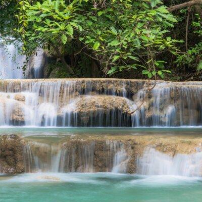Фотообои Зеленый водопад