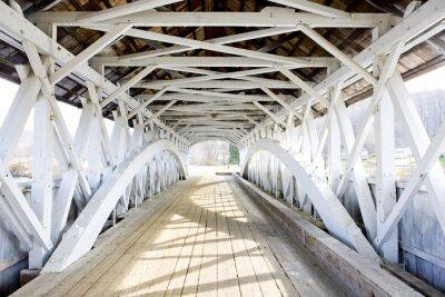 Фотообои Groveton Крытый мост (1852), Нью-Гэмпшир, США
