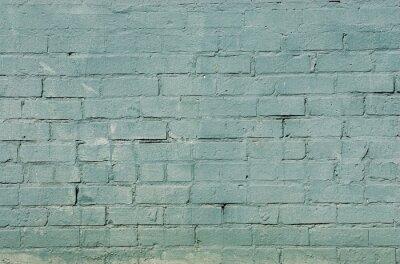 Фотообои гранж фоне кирпичной стены с синим цветом