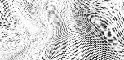 Фотообои Grunge halftone dots pattern texture background