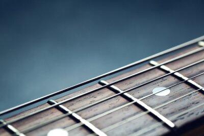 Фотообои шеи крупным планом гитары