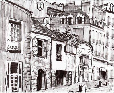 Фотообои Рука ничья париж здание
