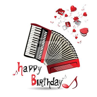 Поздравления с днём рождения гармонисту